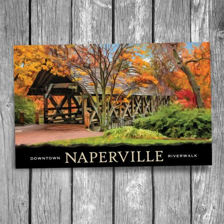 104-Naperville-Covered-Bridge-Postcard