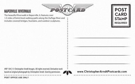 104-Naperville-Covered-Bridge-Postcard-B