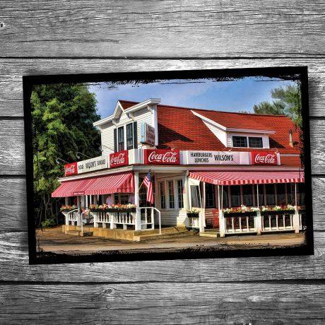 129-Wilsons-Ice-Cream-Door-County-Postcard