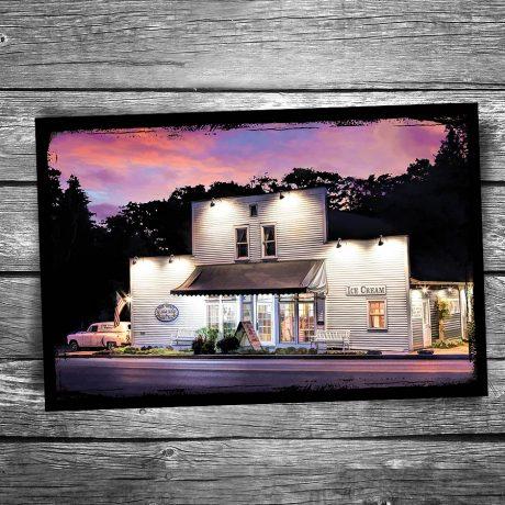140-Door-County-Ice-Cream-Factory-Postcard