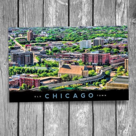 148-Chicago-Old-Town-Postcard-Front