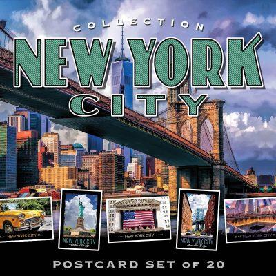 New York City Postcards | Best of Series | Set of 20