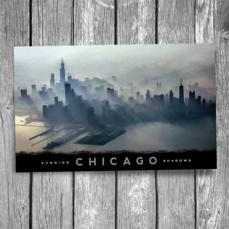 150-Chicago-Shadows-Postcard-Front