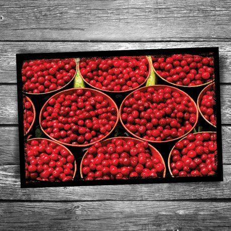 152-Door-County-Cherry-Buckets-Postcard