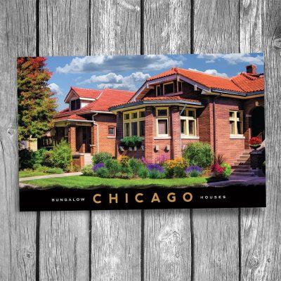 Chicago Bungalow Postcard