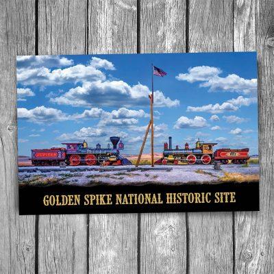 Golden Spike National Historic Site Postcard