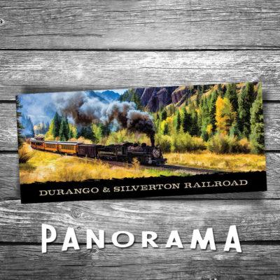 Durango and Silverton Panorama Postcard