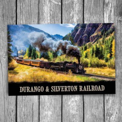 Durango and Silverton Scenic Railroad Postcard