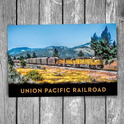 Union Pacific Centennial Postcard