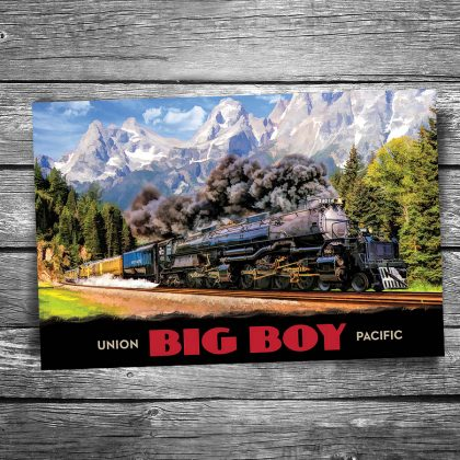 Union Pacific Big Boy Postcard