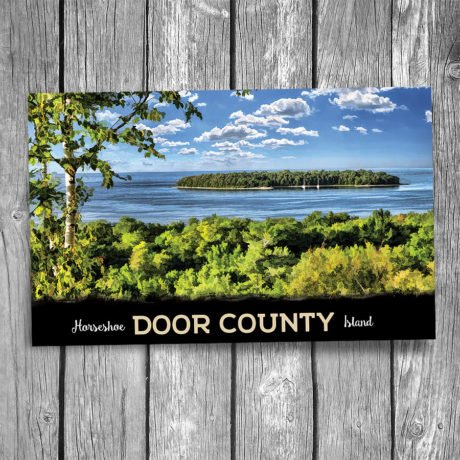 161-Horseshoe-Island-Door-County-Postcard