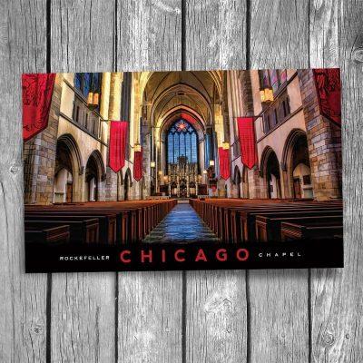 University of Chicago Rockefeller Chapel Postcard