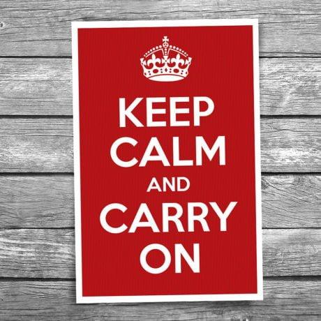 17-101-Keep-Calm-and-Carry-On-Postcard