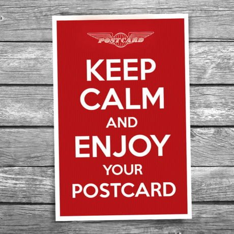 17-102-Keep-Calm-and-Enjoy-Your-Postcard