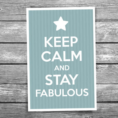 17-106-Keep-Calm-and-Stay-Fabulous-Postcard