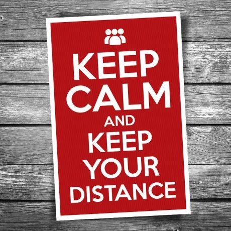 17-115-Keep-Calm-Keep-Your-Distrance-Postcard
