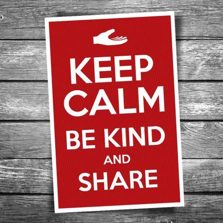 17-118-Keep-Calm-Be-Kind-Postcard