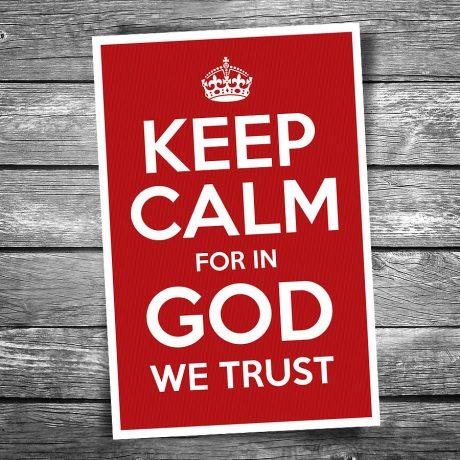 17-120-Keep-Calm-In-God-We-Trust-Postcard