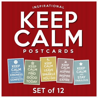 Keep Calm Postcards | Set of 12