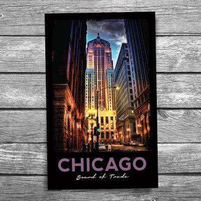 Chicago Board of Trade Postcard