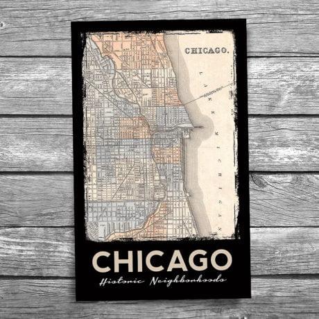 175-Chicago-Neighborhood-Map-175-Front