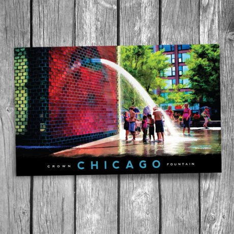 177-Crown-Fountain-Postcard-Front