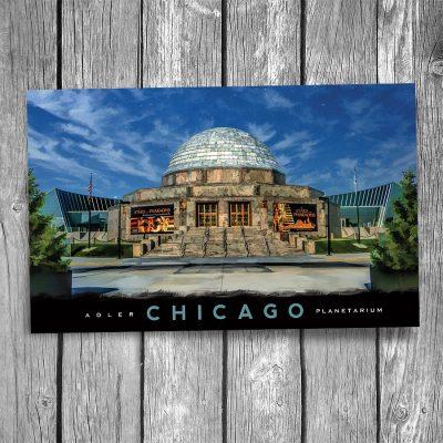 Chicago Adler Planetarium Postcard