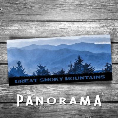 Smoky Mountains Panorama Postcard