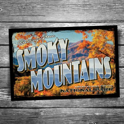 Greetings from Smoky Mountain National Park Postcard