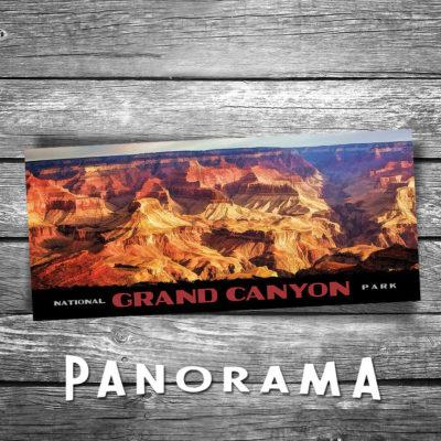 Grand Canyon Panorama Postcard