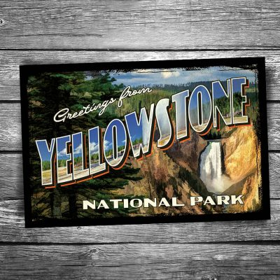 Yellowstone National Park Postcards