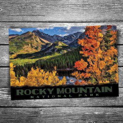 Rocky Mountain National Park - Bear Lake Autumn