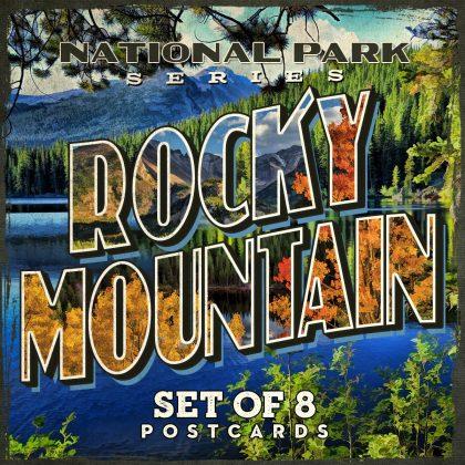Rocky Mountain National Park Postcards | Set of 8