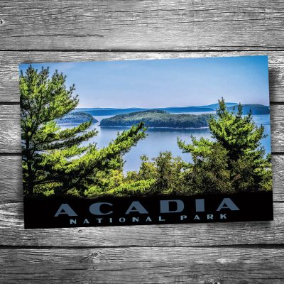 Acadia National Park Cadillac View Postcard