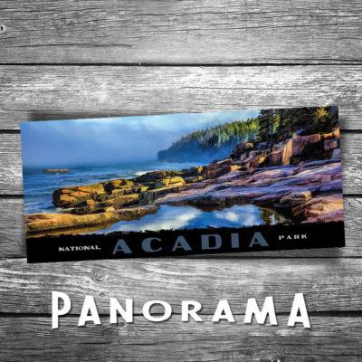 Acadia Panorama Postcard