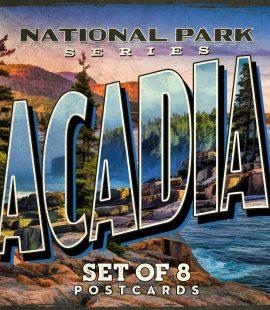 Acadia National Park Postcards | Set of 8