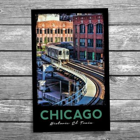 188-Chicago-El-Postcard-Front