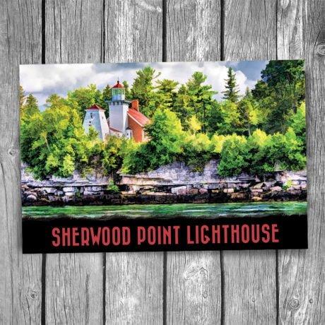 19-01-05-Sherwood-Point-Lighthouse-Postcard