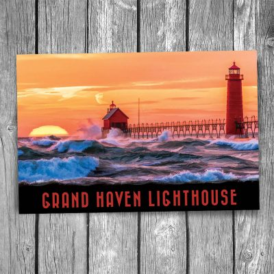 Grand Haven Lighthouse Postcard