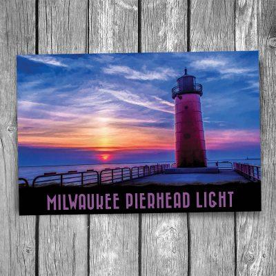 Milwaukee Pierhead Lighthouse Postcard