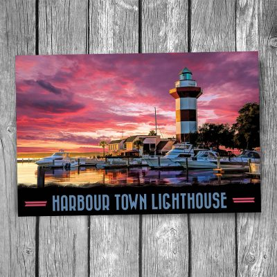 Harbour Town Lighthouse Postcard
