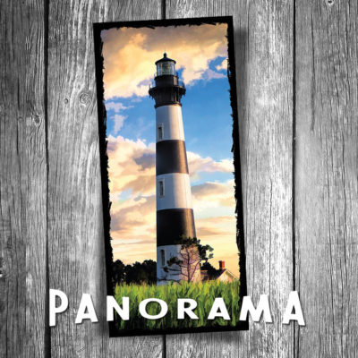 Bodie Island Lighthouse Panorama Postcard