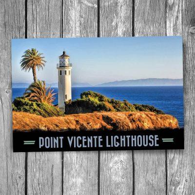 Point Vicente Lighthouse Postcard