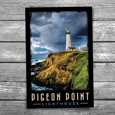 Pigeon Point Lighthouse Postcard