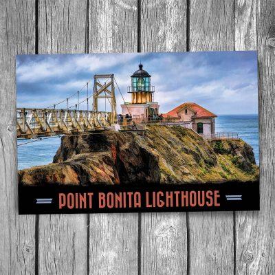 Point Bonita Lighthouse Postcard