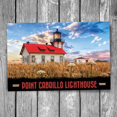 Point Cabrillo Lighthouse Postcard