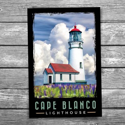 Cape Blanco Lighthouse Postcard