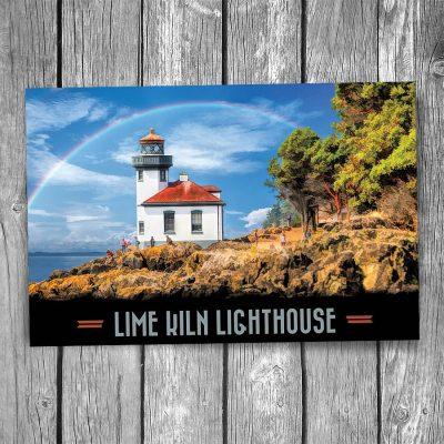 Lime Kiln Lighthouse Postcard