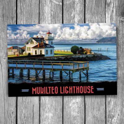 Mukilteo Lighthouse Postcard