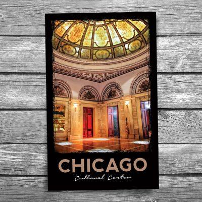 Chicago Cultural Center Postcard
